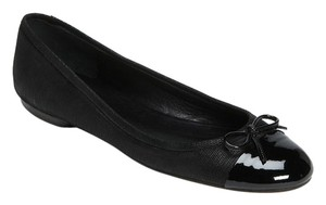 Delman Brook Suede Womens Designer Black Flats