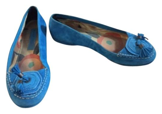 Marc by Marc Jacobs Blue Flats