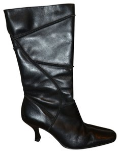 Other Mid Calf 100% Heels Glam Diva Brazil From Brazil Black True Leather Boots