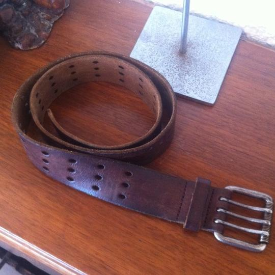 American Eagle Outfitters AMERICAN EAGLE OUTFITTERS Triple Prong Leather Belt
