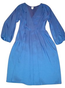 A newyork short dress Royal Blue on Tradesy