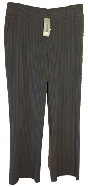 Preload https://item3.tradesy.com/images/chico-s-grey-larin-gry-stripe-dress-career-trousers-size-14-l-34-6571492-0-1.jpg?width=400&height=650