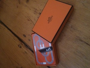 Hermès Hermes Playing Cards, Brand New. Great Gift!