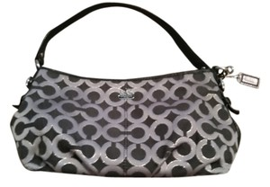 Coach Wristlet in Black Shiny