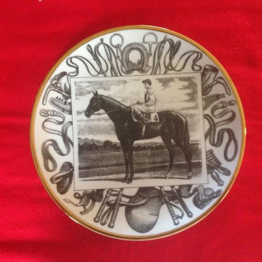 Piero Fornasetti Piero Fornasetti Horse Racing Plates, Set of 8 - 1950's - Rare