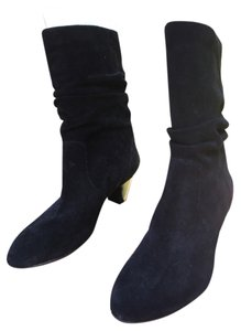 Easy Spirit Black Suede Boots