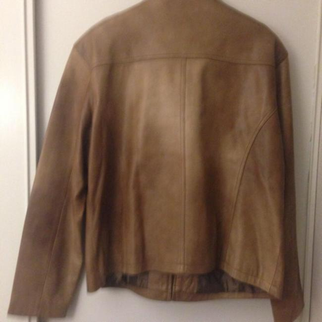 Luis Alvear Brown Leather Jacket