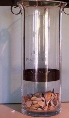 Partylite Sunesta Hurricane Candle Holder/vase 13""