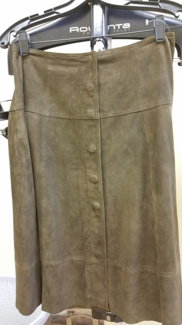 Joie Suede A-line Skirt