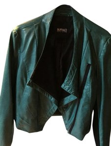 Buffalo David Bitton Aqua Leather Jacket