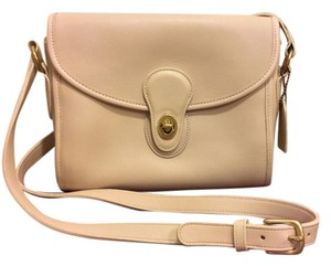 Coach Vintage Nuetral Color Adjustable Strap Shoulder Bag