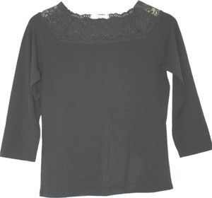 Marks & Spencer & Black Stretchy Top