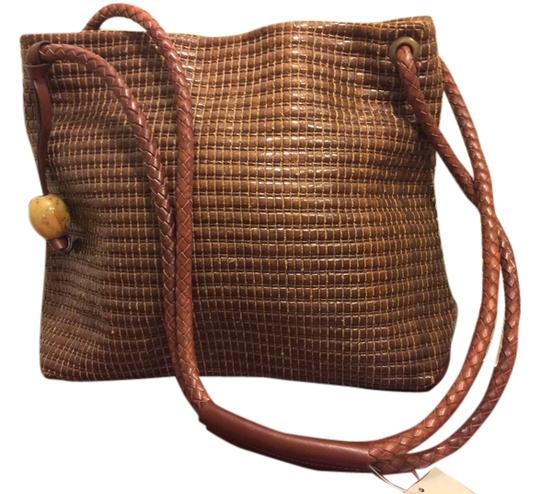 Preload https://item4.tradesy.com/images/7121302-line-tobacco-brown-woven-leather-shoulder-bag-6573838-0-0.jpg?width=440&height=440