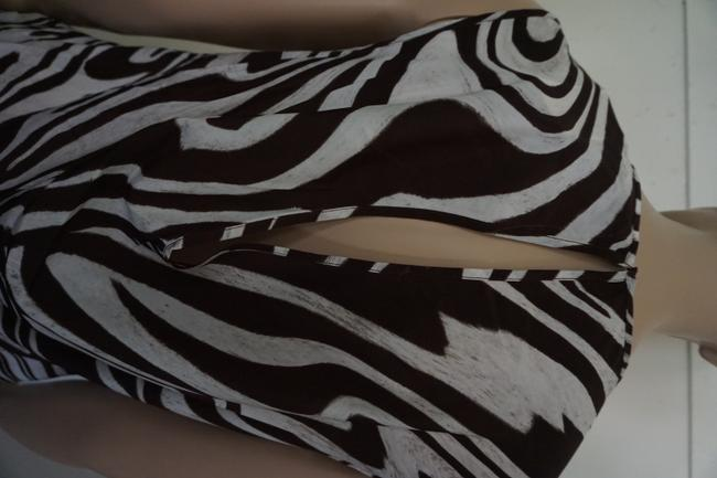 Michael Kors Top brown and white