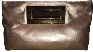 Michael Kors Mk Gold Clutch