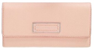 Marc by Marc Jacobs Marc By Marc Jacobs Light Pink Leather Trifold Wallet New With Tags