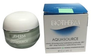 biotherm BIOTHERM AQUASOURCE 48 hrs deep hydrating replenishing cream 50 ml / 1.69 oz ,New in box !!!