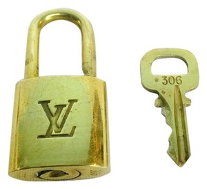 Louis Vuitton Authentic Padlock And Key #306