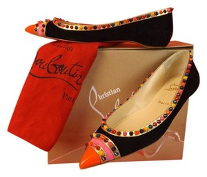 Christian Louboutin Black/Multi-color Flats