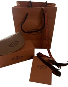 Tod's Tod's sunglass case, box, ribbon, bag, brand new!