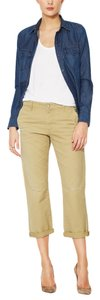 AG Adriano Goldschmied Crop Capris Green