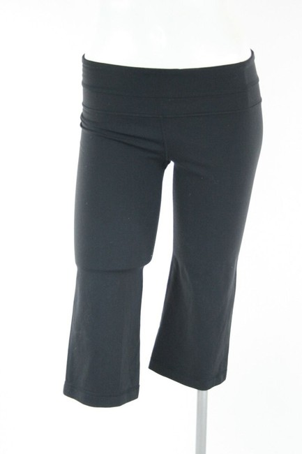 Lululemon Lululemon Black Nylon Cropped Pants