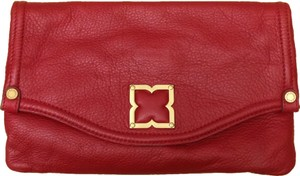BCBGMAXAZRIA Red Clutch