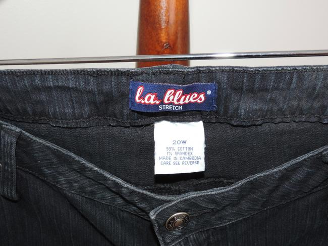 Other Textured Boot Cut Jeans-Medium Wash