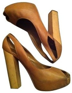 bebe Tan Pumps