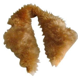 AgaTha ResurrecTion Sheepskin Fur Lapel Collar, Stole, mint cond