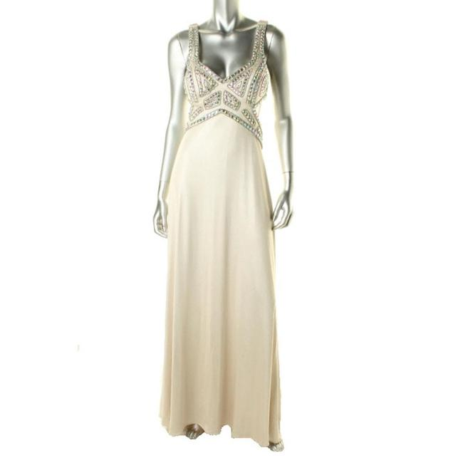 Betsy & Adam Pearl A14680/Evening Long Night Out Dress Size Petite 4 (S) Betsy & Adam Pearl A14680/Evening Long Night Out Dress Size Petite 4 (S) Image 1