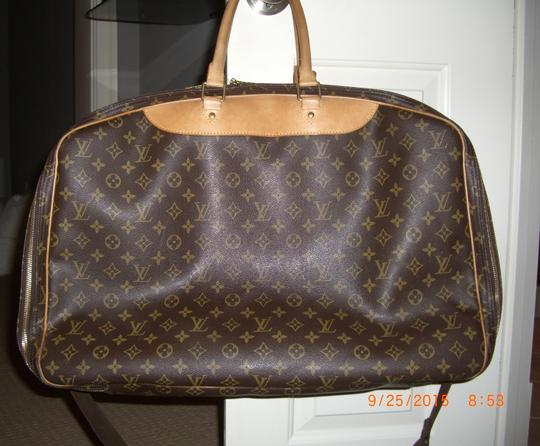 Louis Vuitton Brown/Tan Travel Bag