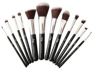 Other 12pcs Full Size Essential Makeup Brush Set - Brush ONLY