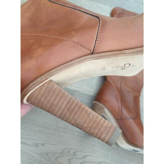 Cole Haan Brown cognac leather Boots