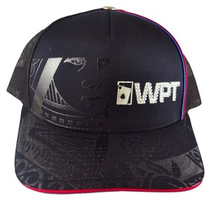 World Poker Tour WPT Cap, Trucker Hat, Ball Cap, One Size Fits.