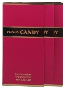 Prada Prada Candy Perfume Sample - Lot Of 3!
