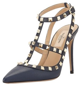 Valentino Navy Blue Pumps