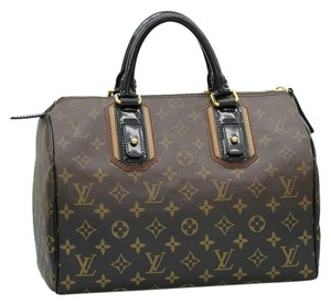 Louis Vuitton Satchel in Monogram Noir