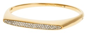 Michael Kors PAVE CRYSTAL GLITZ GOLD TRIBAL BANGLE BRACELET MKJ4483710