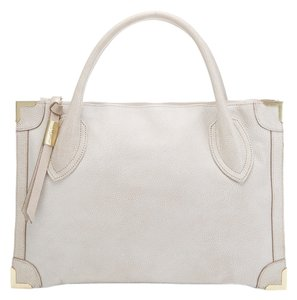 Foley + Corinna Satchel in Stone (Sidewalk)