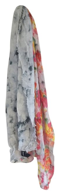 Item - Multicolor New Without Tags Cashmere/Modal Print Scarf/Wrap
