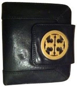 Tory Burch Tory Burch Gold and Black Wallet