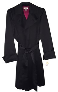Talbots Satin Evening Trench Coat