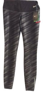 Nike Oregon Oregon Ducks Ducks Black and Gray Leggings