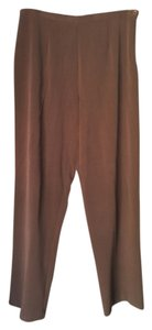 Dialogue Straight Pants brown