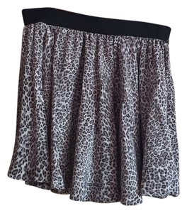 Gemma Mini Skirt Cheetah print