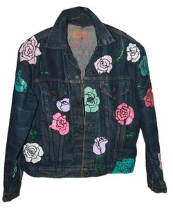 Nasty Gal blue Womens Jean Jacket
