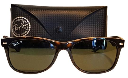 af99362c75 Ray-Ban Tortise New Wayfarer Polarized(Flawless) Rb2132 902 58 5518 ...