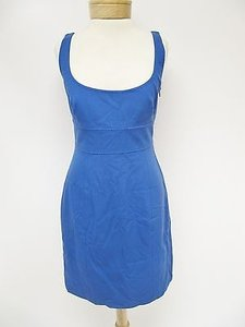 Elie Tahari Womens Suzie Sleeveless Empire Waist Dress