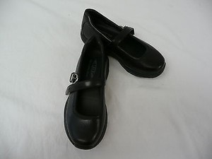 MBT Leather Tunisha Mary Jane Walking Toning Black Athletic